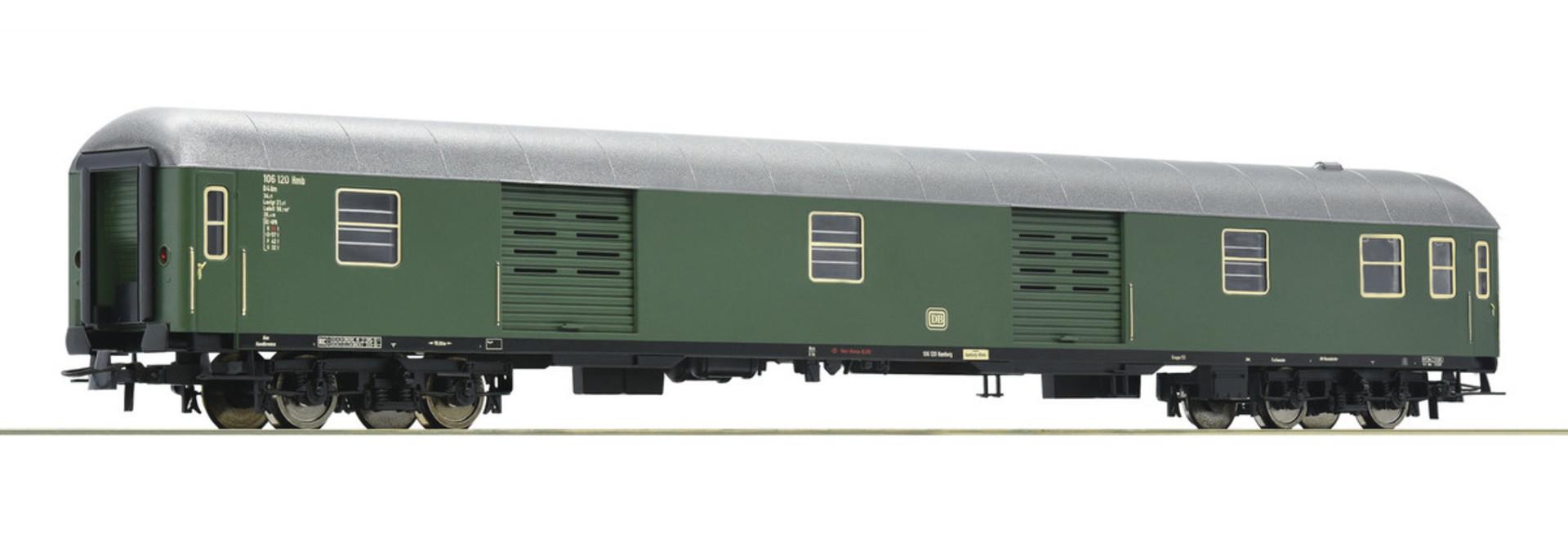 D-Zug Packwagen grün