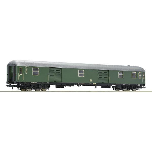 Roco D-Zug Packwagen grün