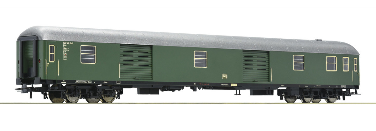 D-Zug Packwagen grün-1