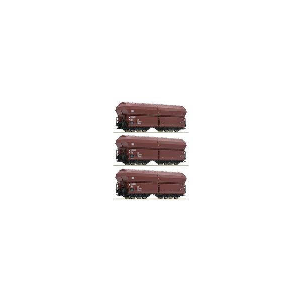 Roco 76079 zelflosser set 3-delig van de DB