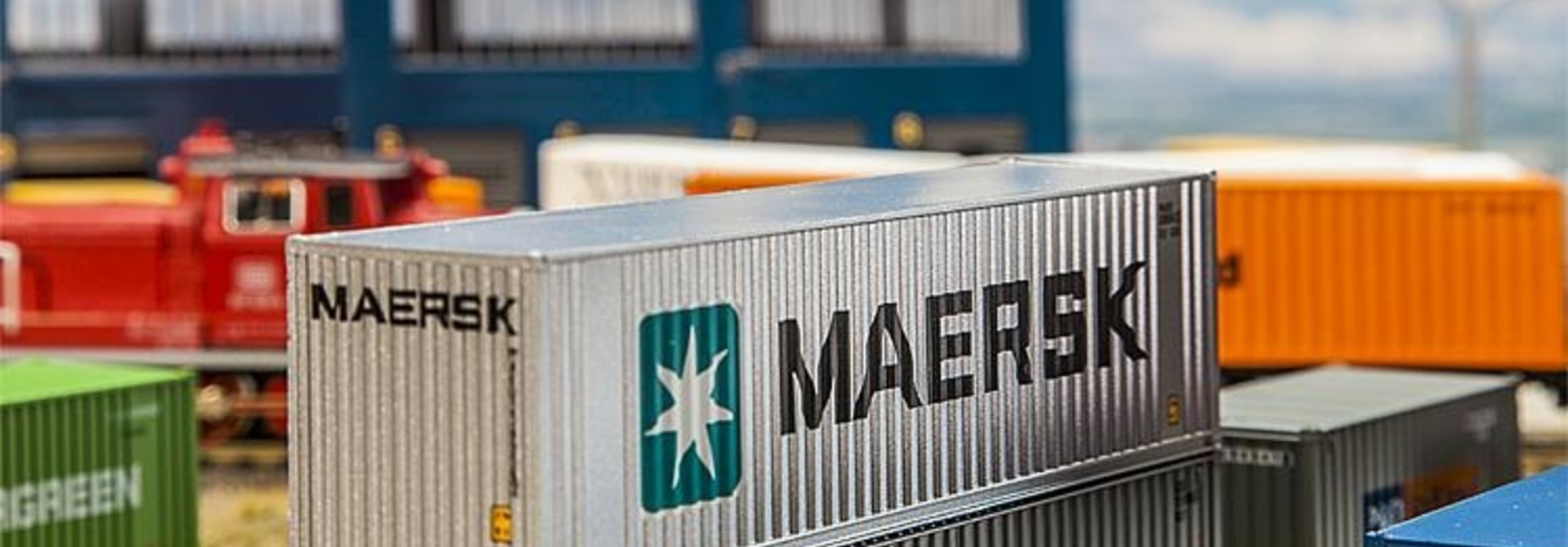 180840 40' HI-CUBE CONTAINER MAERSK