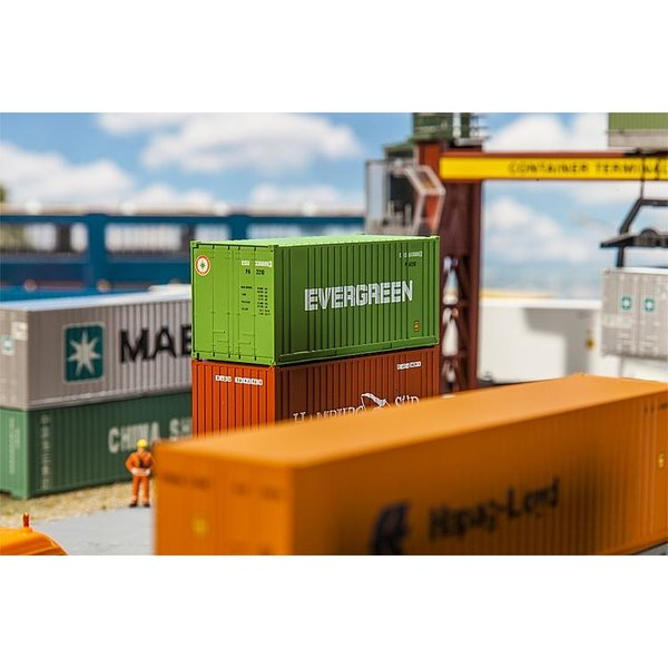 Faller 180821 20' CONTAINER EVERGREEN