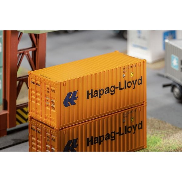 Faller 180826 20' CONTAINER HAPAG-LLOYD