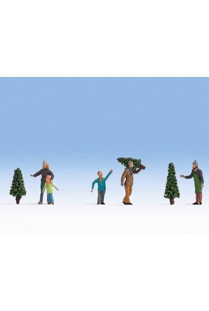 36927 Kerstbomen verkoop