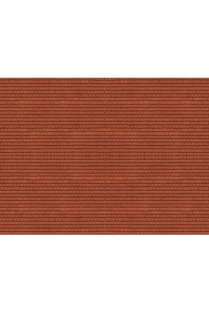 """56965 3D-Kartonplatte """"Dachziegel"""""""