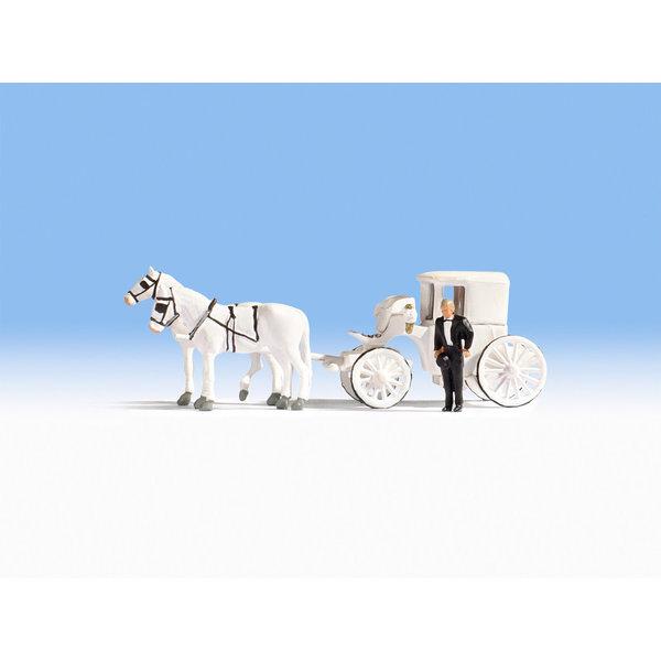 NOCH 16706   Hochzeitskutsche