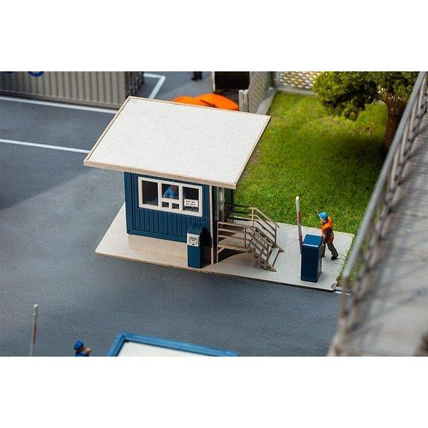 Faller 130626 Portierhuis met dakoverstek