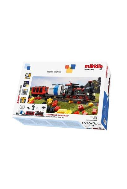 """29730 Start up - startset """"bouwsteenwagen"""" met geluid en lichtbouwstenen"""