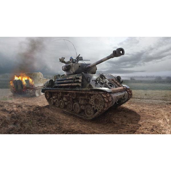 "Italeri 6529 1:35  Bouwpakket M4A3E8 SHERMAN ""FURY"""
