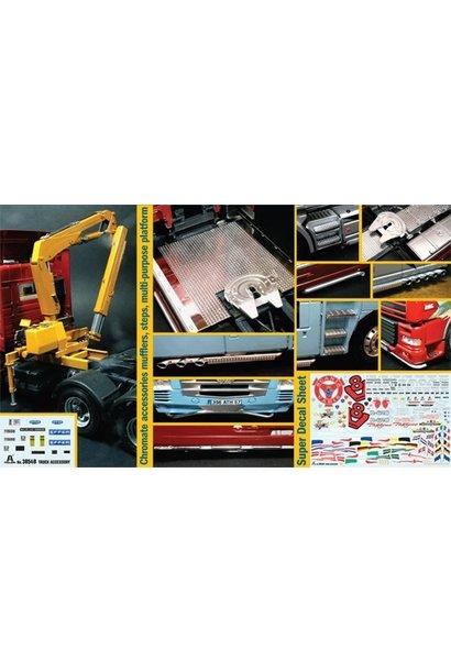 3854 1:24 Bouwpakket Truck Accessoires Set II