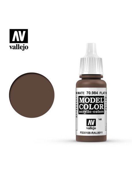 Vallejo MODEL COLOR FLAT BROWN