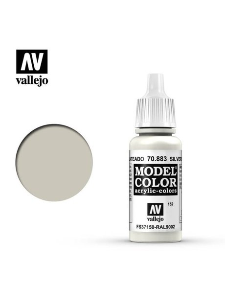 Vallejo MODEL COLOR SILVERGREY