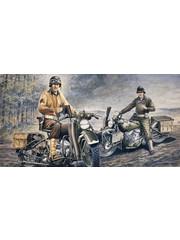 Italeri 322 1:35 U.S. MOTORCYCLES WW2