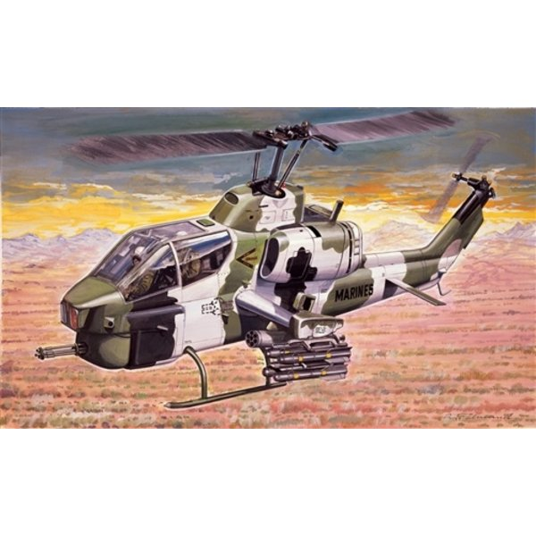 Italeri 0160 1:72 AH-1W SUPER COBRA