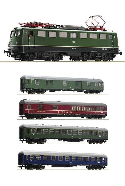Baureihe 139 DCC Sound + D sneltreinrijtuigen