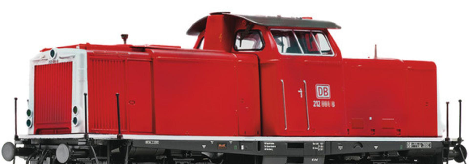 52525 Diesellocomotief BR 212 van de DB AG, SBB (DC Sound)