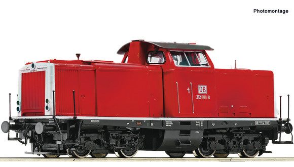 52525 Diesellocomotief BR 212 van de DB AG, SBB (DC Sound)-1