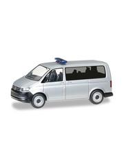 Herpa 12911 VW T6 Bus, zilver metallic (Minikit)