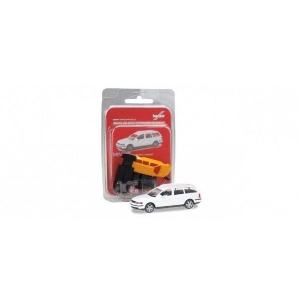 Herpa 012249-005 Volkswagen Passat Variant, wit (Minikit)