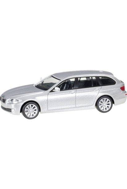 034401-005 BMW 5 Touring, zilver metallic