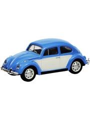 Schuco 452640200 VW Kever, blauw-wit