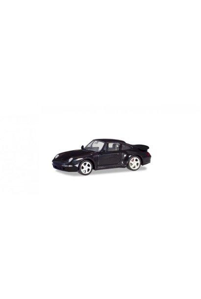 21890-002 Porsche 911 Turbo, zwart