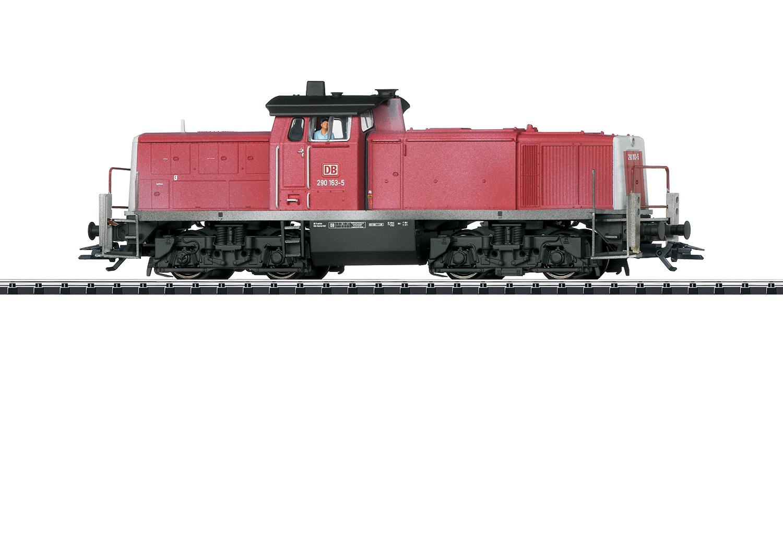 22902 Diesellocomotief BR290 van de DB AG-1