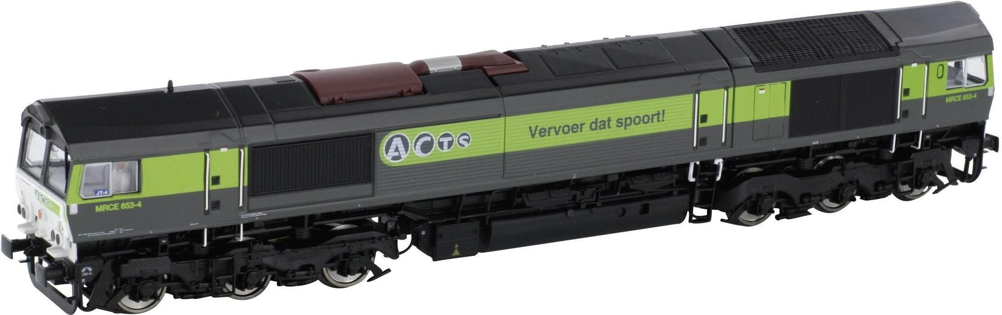 58593 zware diesellocomotief Class 77 van de ACTS DC digitaal-1