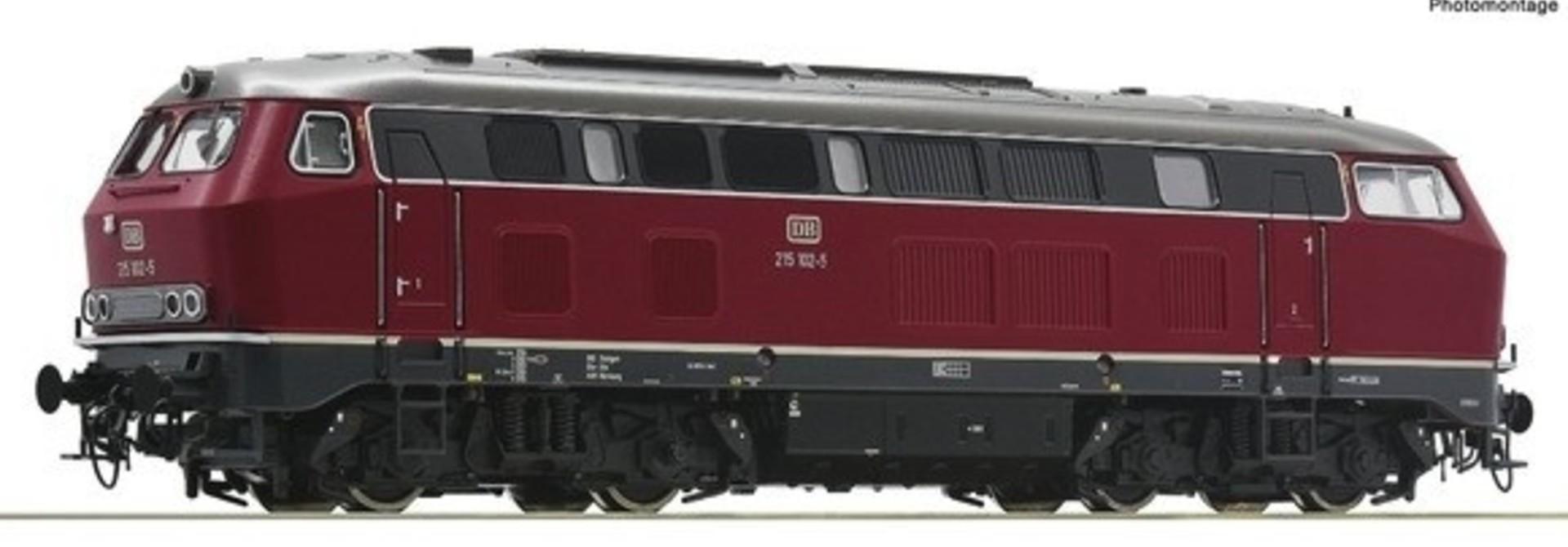 70751 Diesellocomotief BR 215 van de DB DC