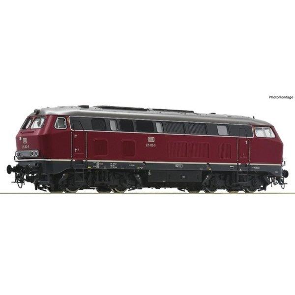 Roco 70751 Diesellocomotief BR 215 van de DB DC