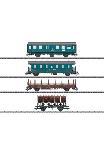 46690 Bauzug-Wagen-Set, 4 Wagen, DB