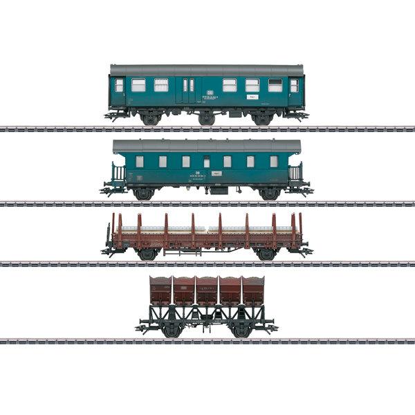 Märklin 46690 Bauzug-Wagen-Set, 4 Wagen, DB