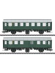 Märklin 43195 Umbauwagen-Paar 3.Kl.+Gep.DB