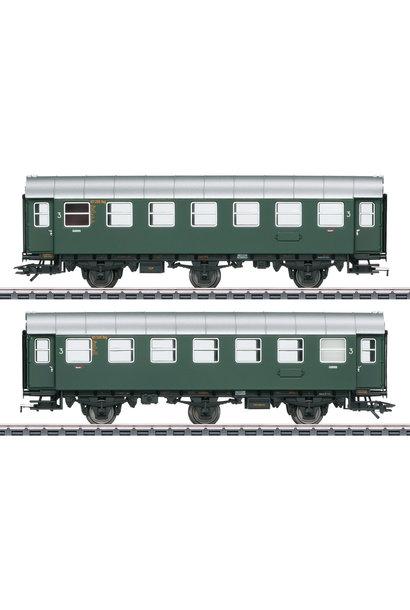 43185 Umbauwagen-Paar 3.Kl.DB