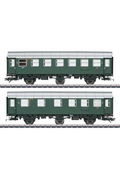 43174 Umbauwagen-Paar 2./3.Kl.+3.Kl