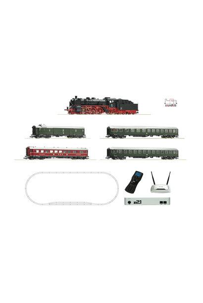 51313 z21 mega-startset stoomlocomotief + personentrein