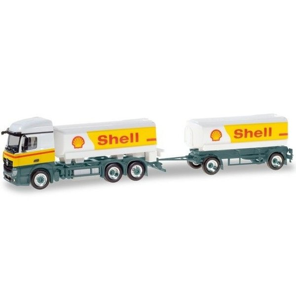 Herpa Mercedes Benz Actros Shell (NL)