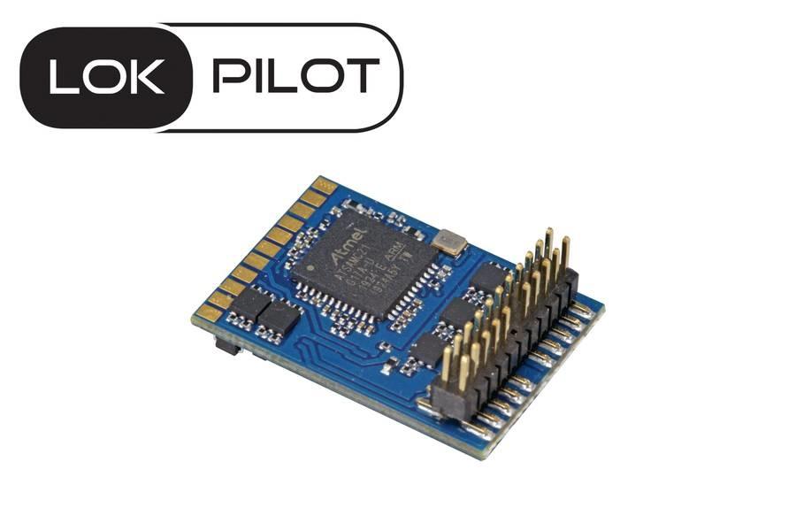ESU 59612 LokPilot V5.0 NEM658 PluX22 Multi-1