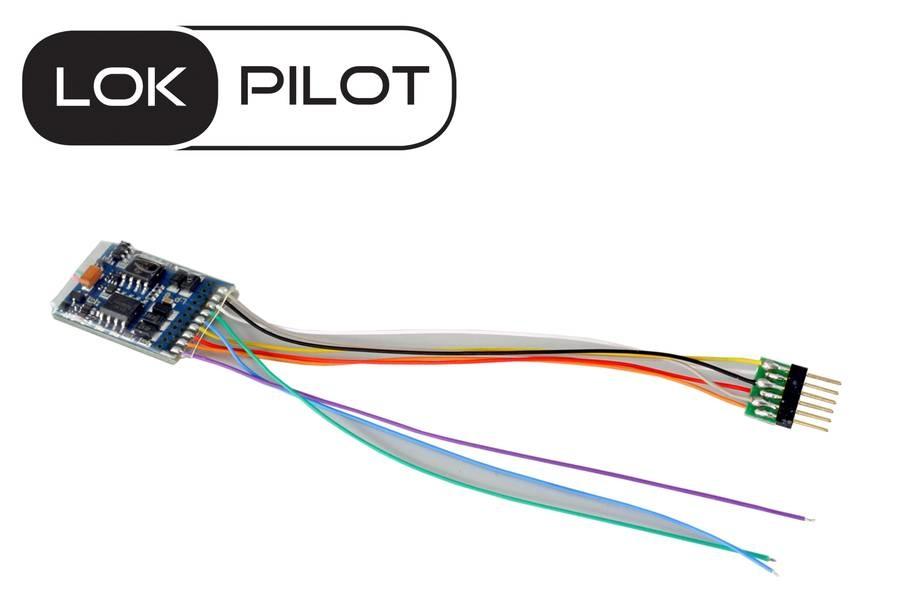 ESU 59616 LokPilot V5.0 NEM 651 6p. Multi-1