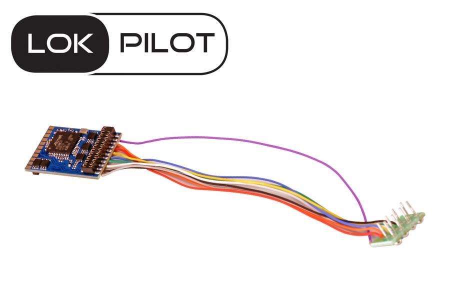 59620 LokPilot V5.0 NEM 652 8p. DCC-1