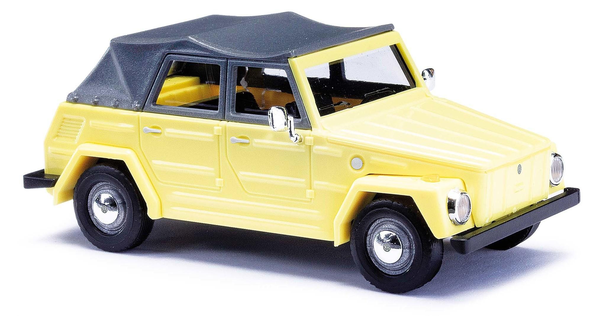 52701 VW 181 Kurierwagen Gelb-1