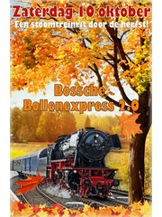 Bossche Bollenexpress 2.0 zaterdag 10 oktober 2020