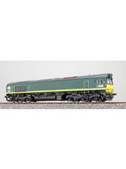 ESU 31272 zware diesellocomotief Class 66 van Ascendos (NL) AC/DC sound + rook