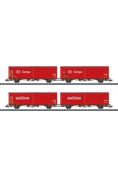 15544 Schiebewandwagen-set Railion