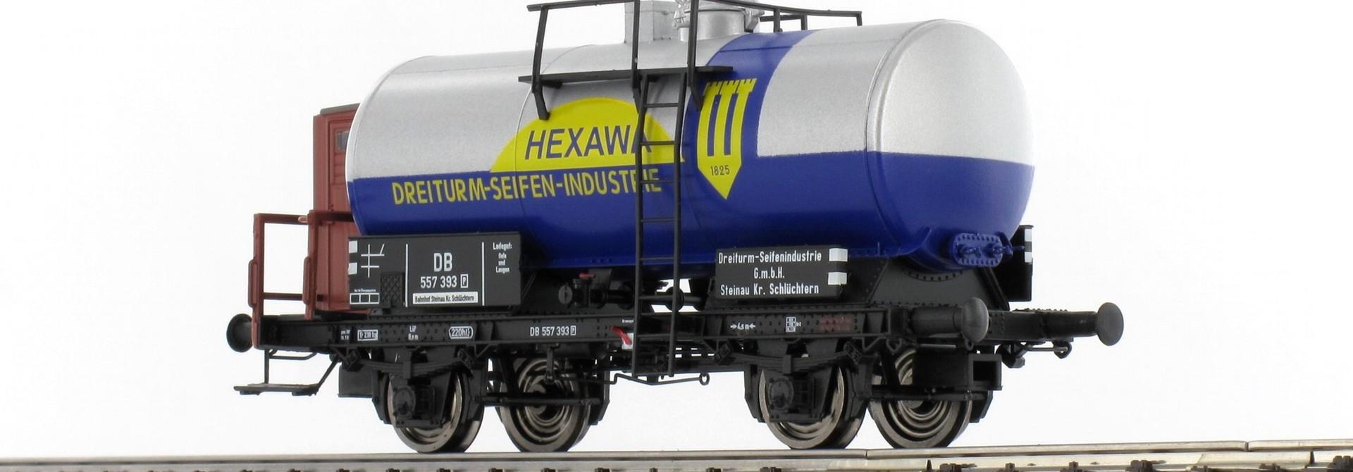 """48897 Kesselwagen """"Hexawa"""" DB"""