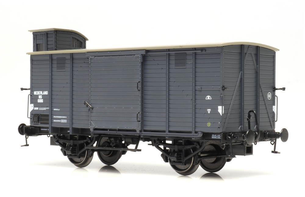 CHD 4m 6816, grijs, schroef- en snelrem, II-1