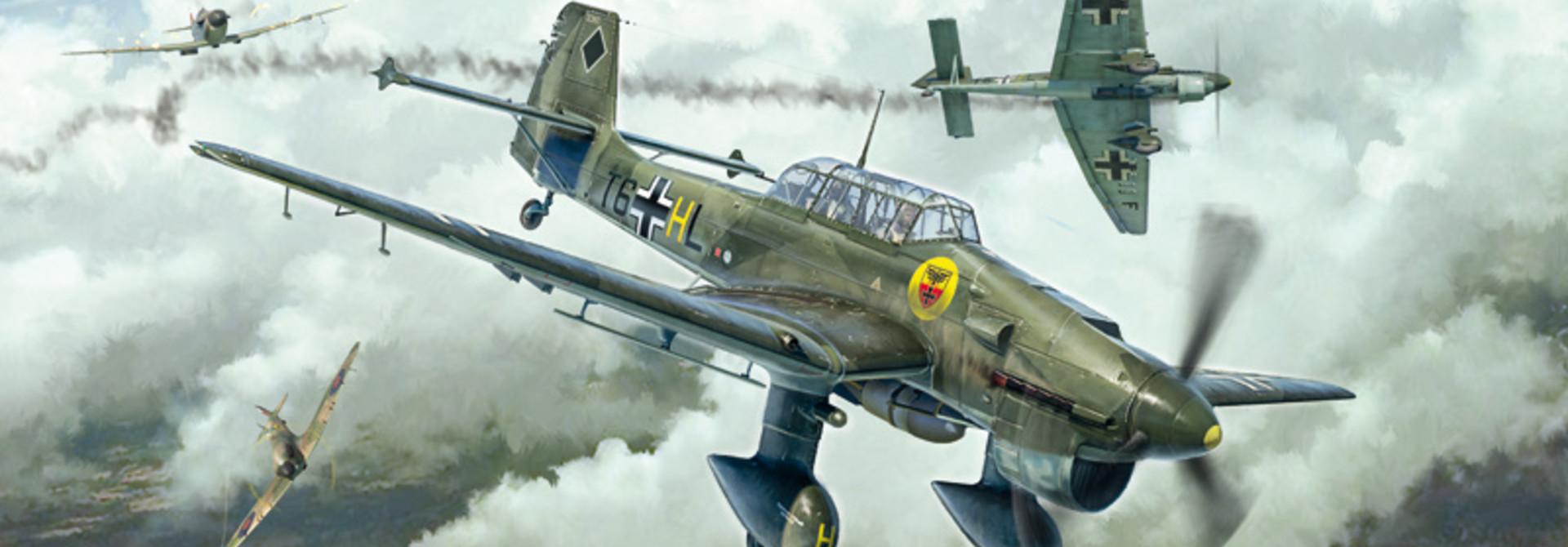 1:48 Junkers Stuka Ju87B