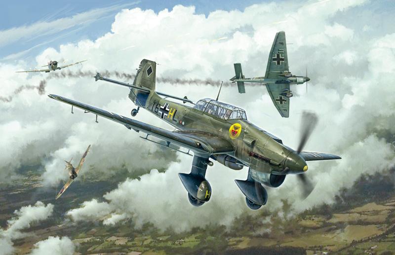 1:48 Junkers Stuka Ju87B-1