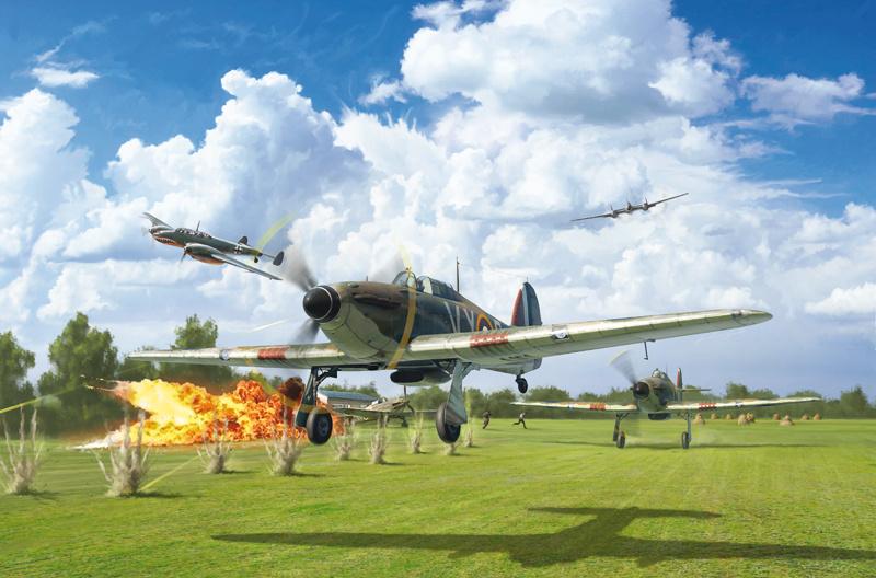 1:48 Hurricane Mk. 1 Battle of Britain-1