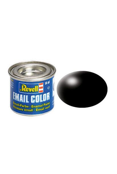32302 schwarz, seidenmatt